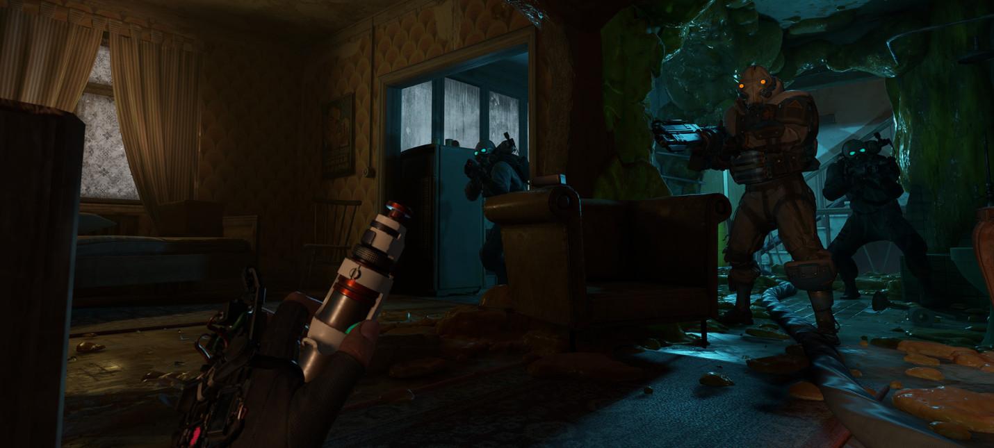 Масса нового геймплея Half-Life: Alyx