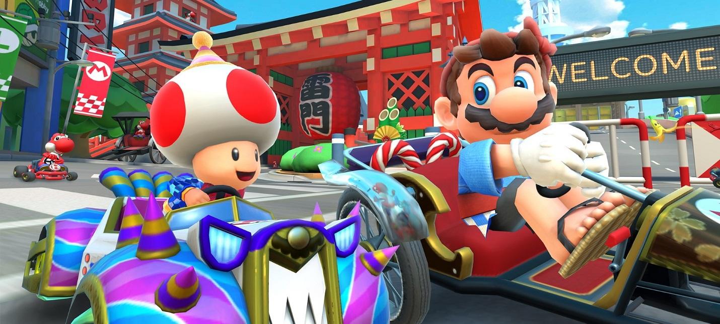 Спустя полгода мобильная Mario Kart Tour получит мультиплеер