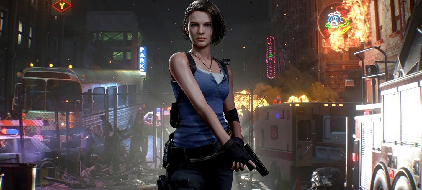 20 минут сражений с зомби в новом геймплее Resident Evil 3