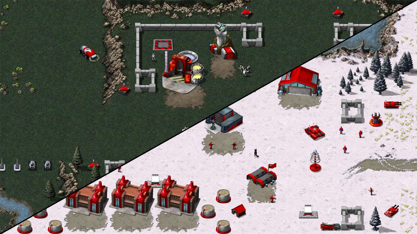 Первый скриншот ремастера C&C: Red Alert