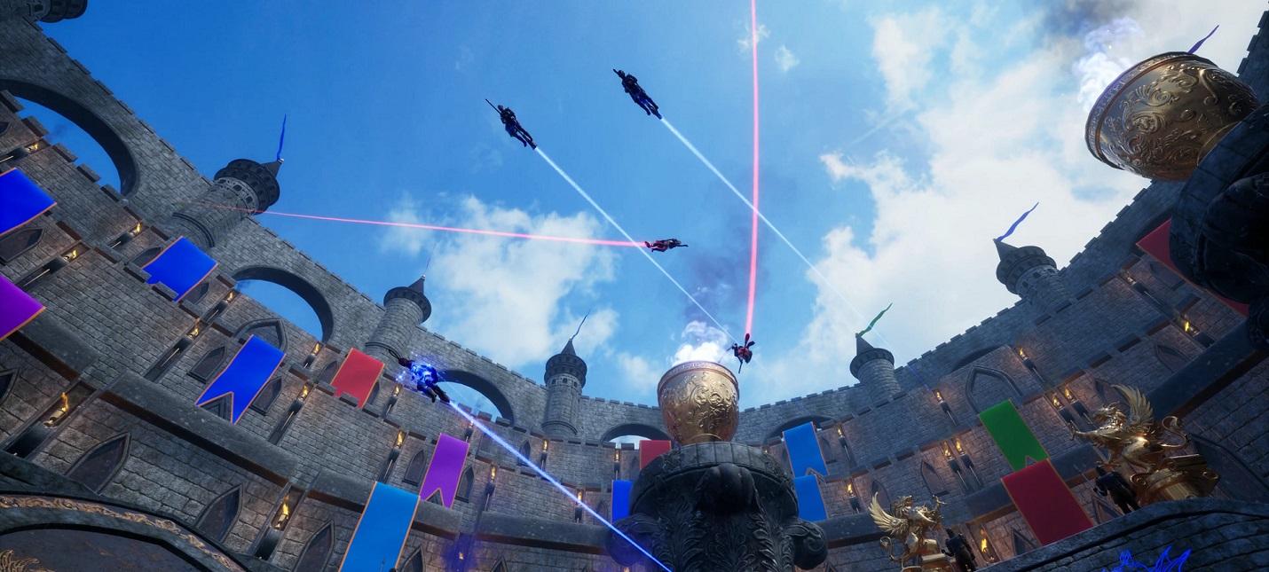 Матч на спине летящего дракона в релизном трейлере Broomstick League