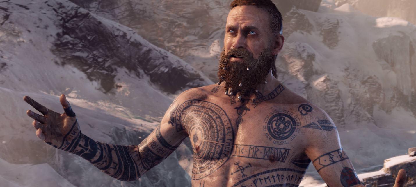 Ютубер нашел забавную сцену в God of War за пределами игровой камеры