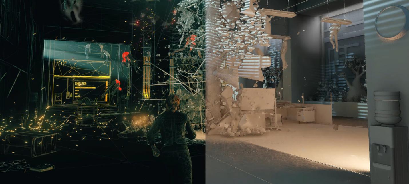 Видео о создании визуальных эффектов Control