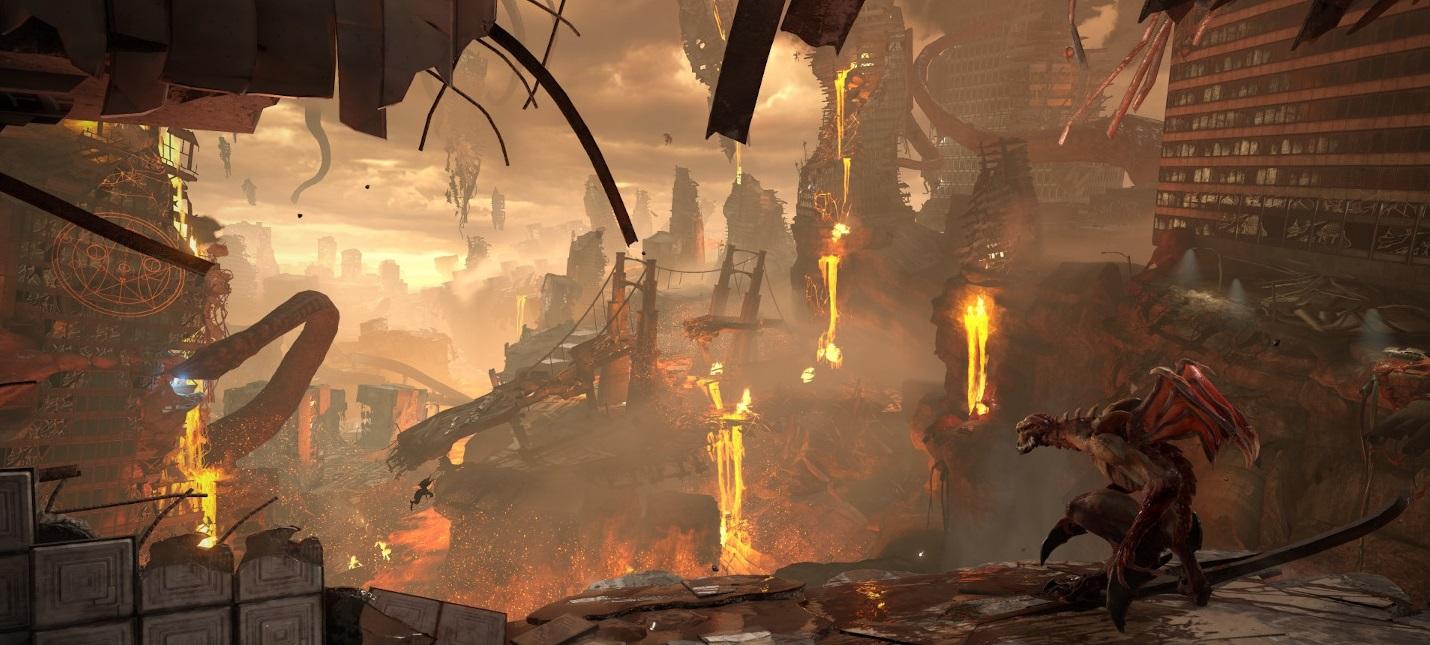 15 минут геймплея Doom Eternal на PS4