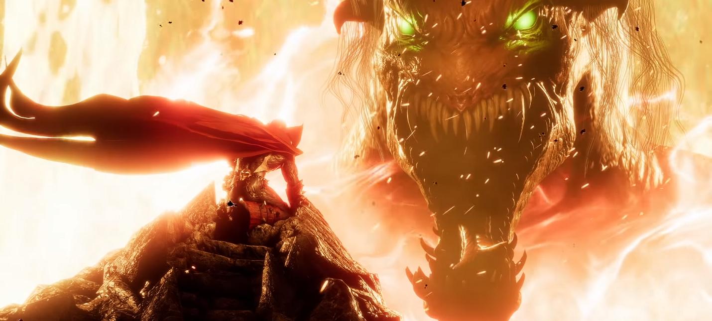 Геймплейный трейлер Спауна из Mortal Kombat 11