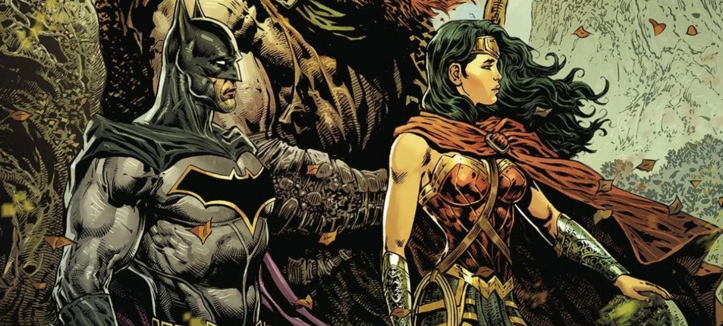 В Лондоне установили бронзовые статуи Бэтмена и Чудо-женщины