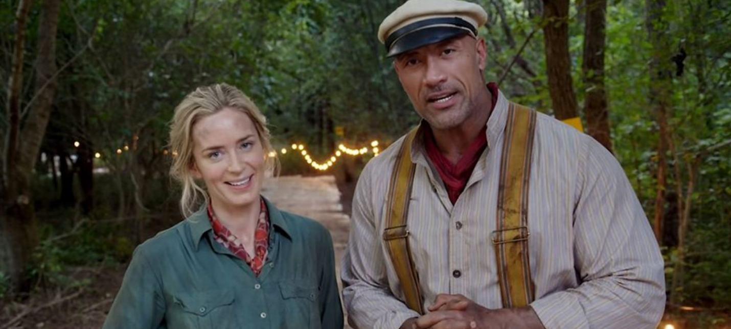 Дуэйн Джонсон и Эмили Блант сыграют семейную пару с суперспособностями в «Тяжелой ноше»