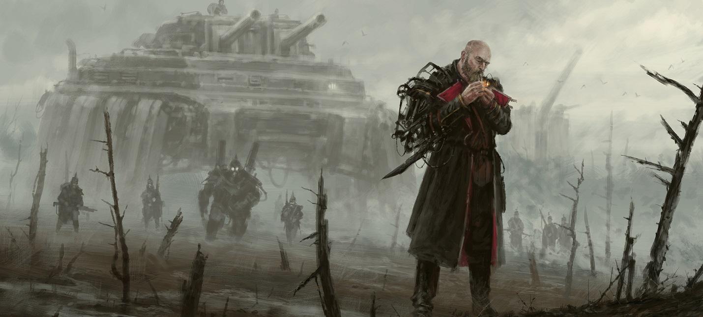 Экзоскелеты-минометчики и третья советская фракция в новом геймплее Iron Harvest