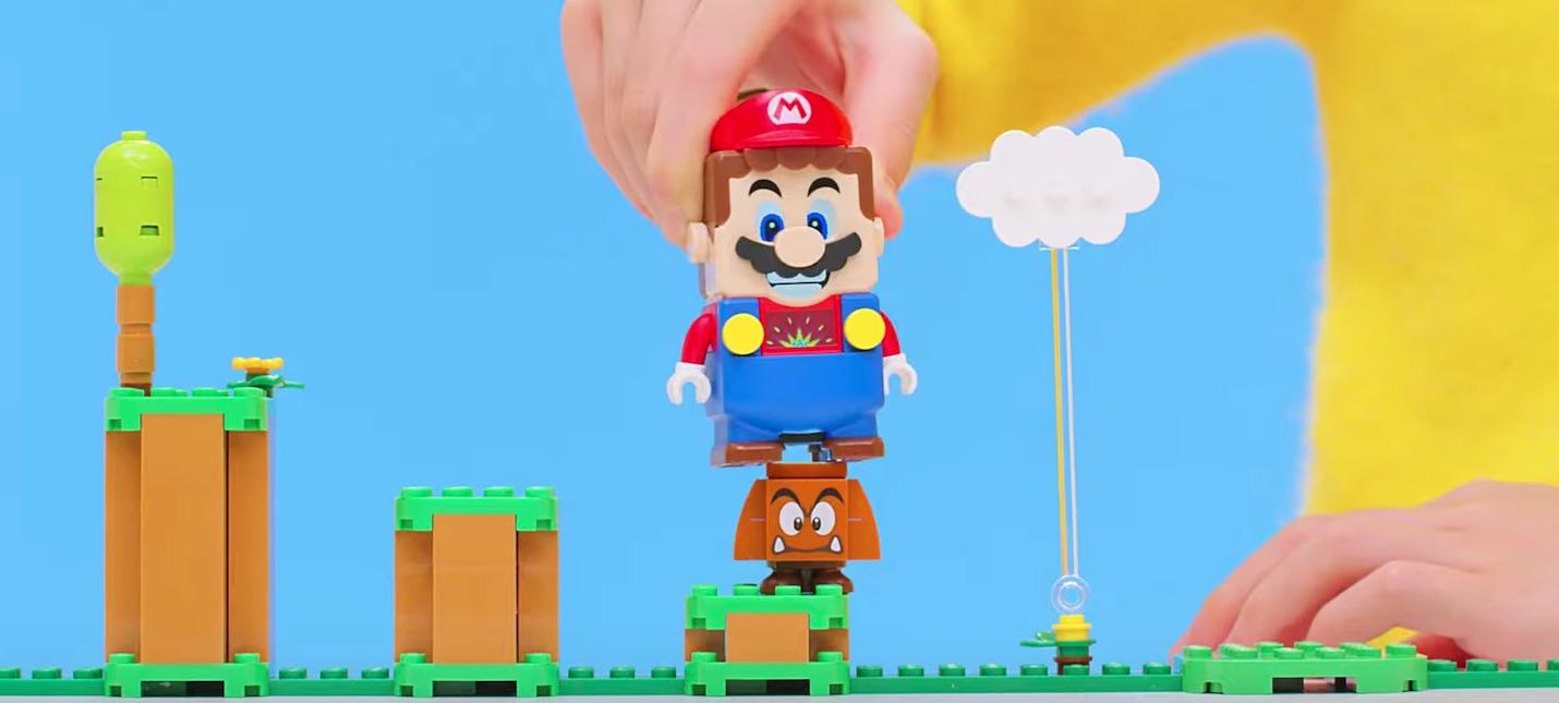 LEGO представила набор по Super Mario