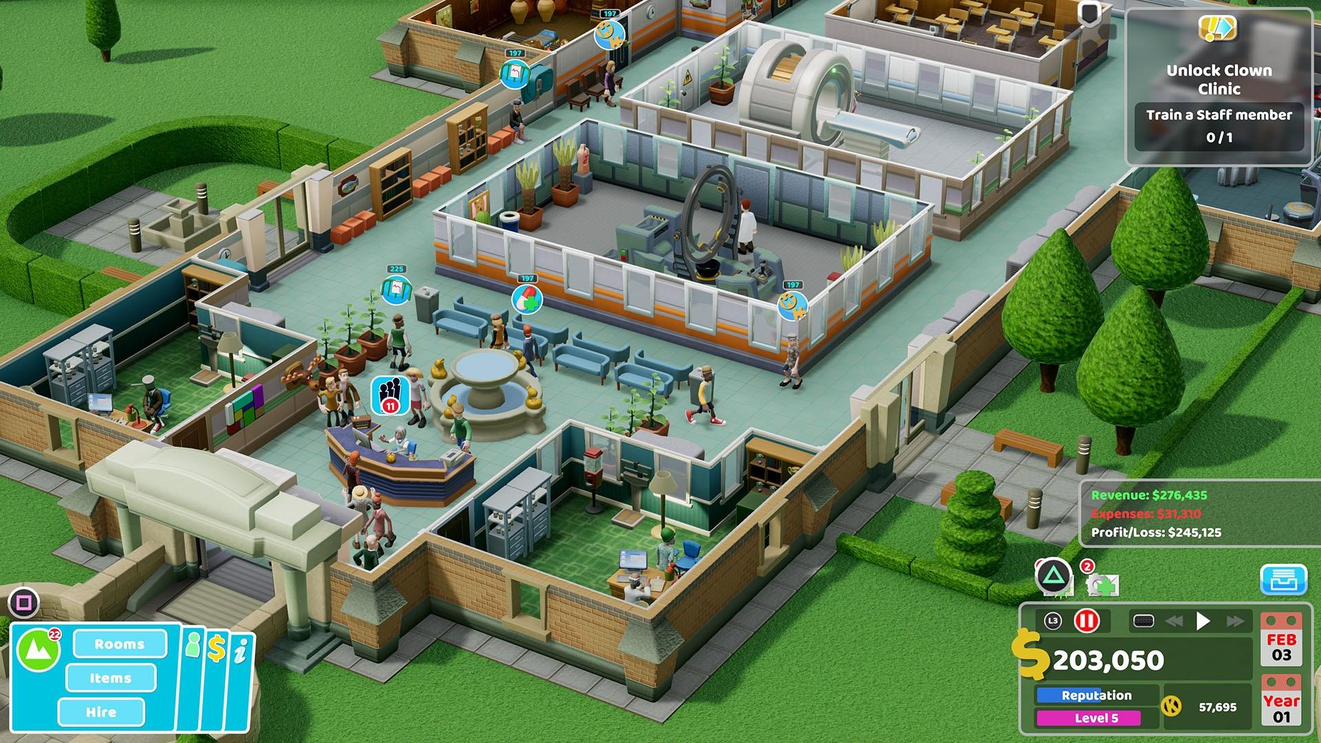 Бизнес-план: Обзор Two Point Hospital