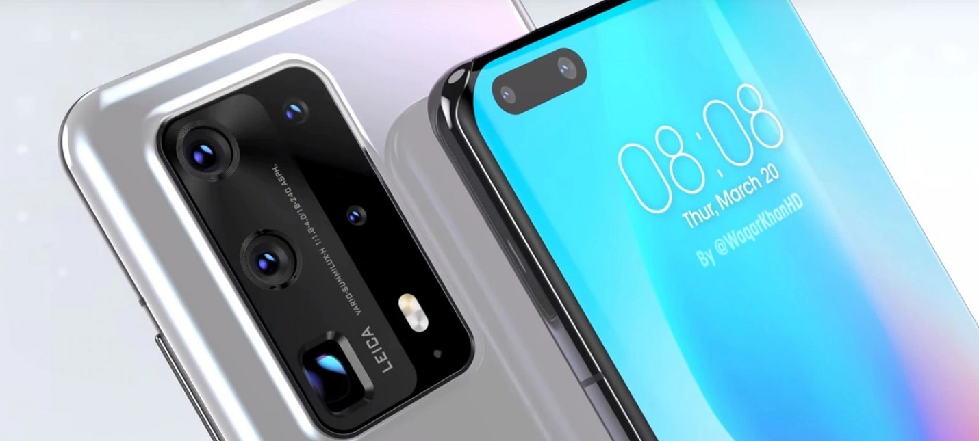 Изогнутый экран и выпуклая камера — первый тизер Huawei P40, презентация 26 марта