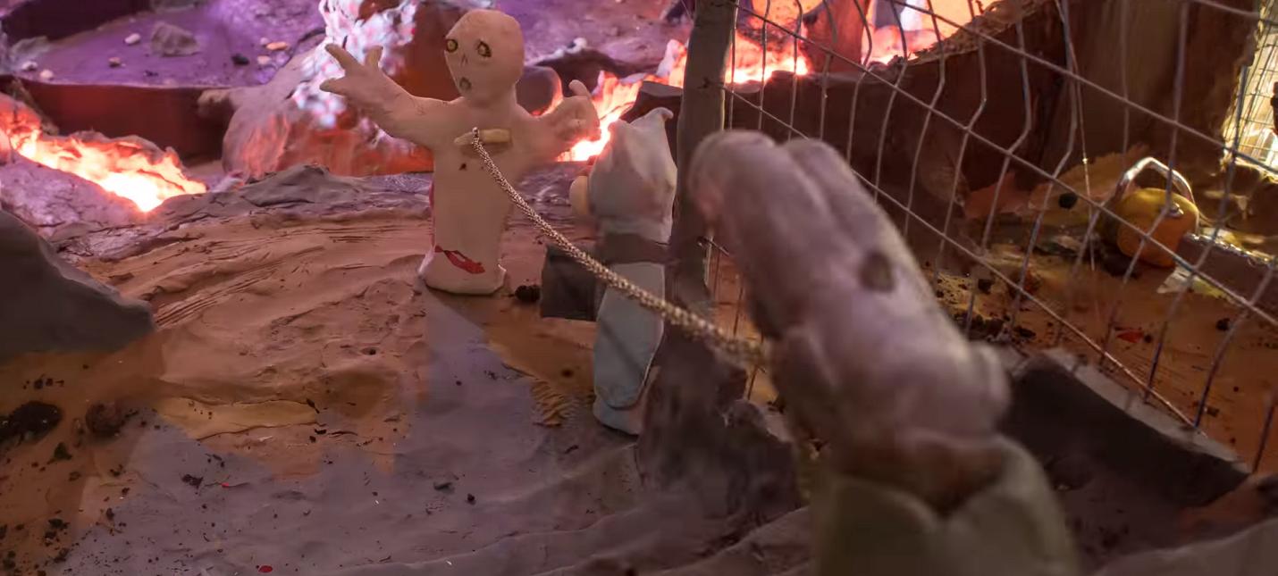 Энтузиаст записал геймплей DOOM Eternal с помощью пластилина