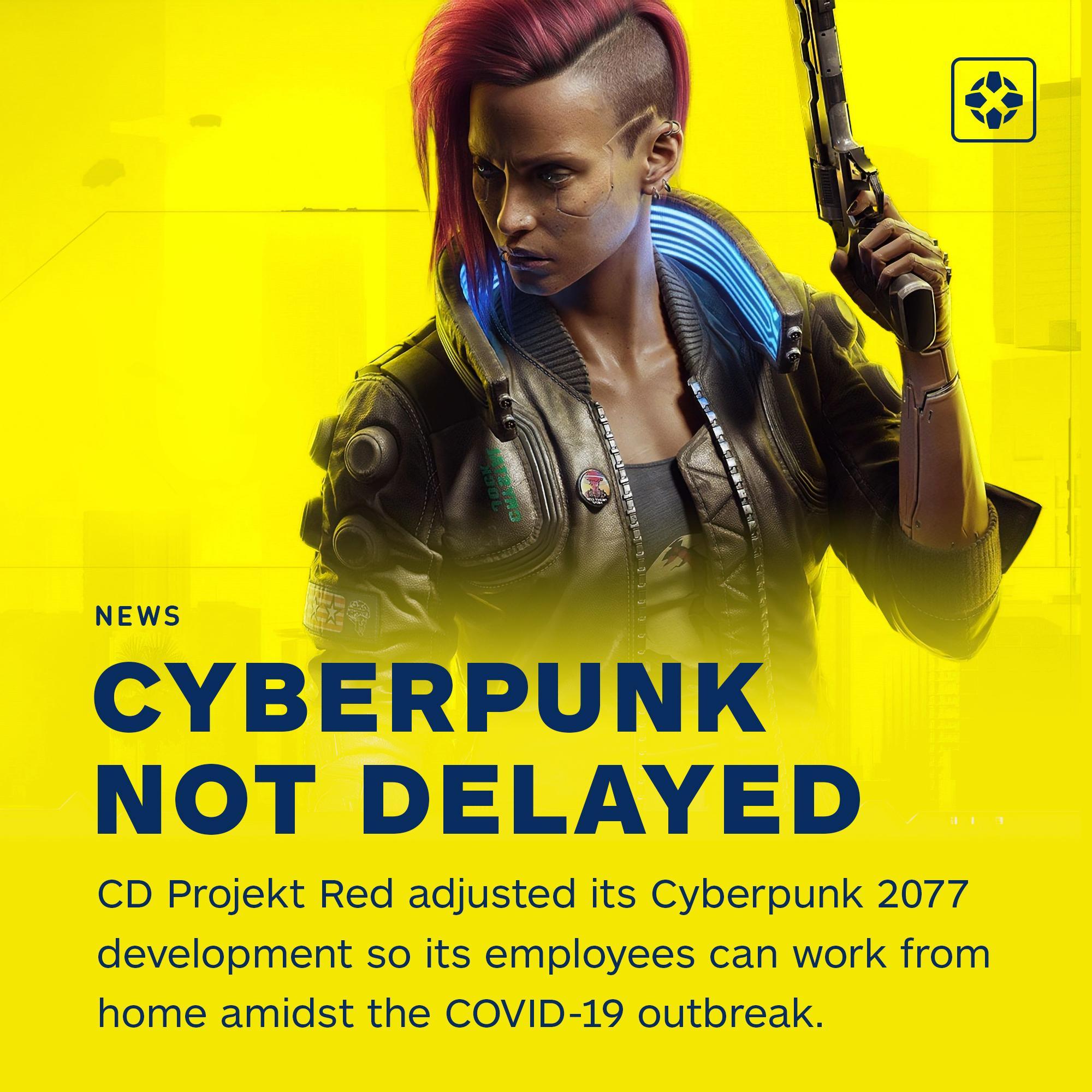 CDPR не будут переносить релиз Cyberpunk 2077 в связи с удаленной работой сотрудников