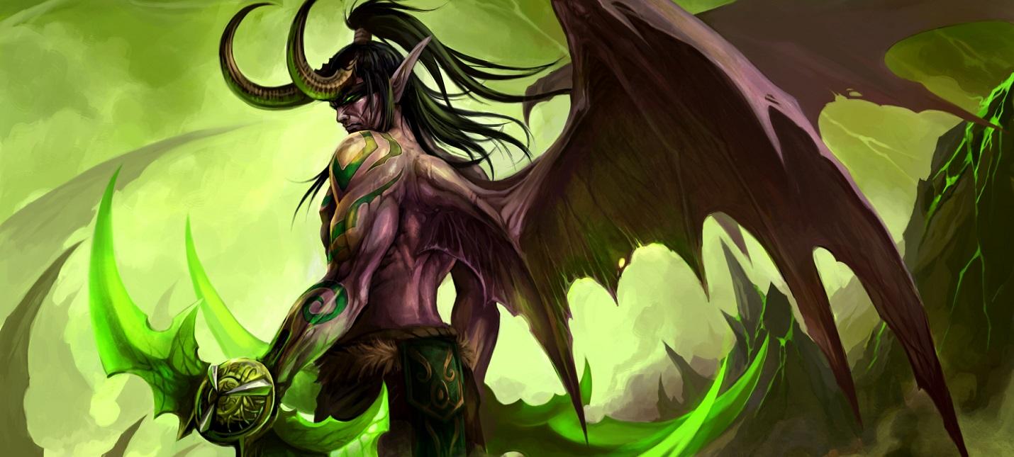 Утечка: в Hearthstone появится новый класс охотника на демонов