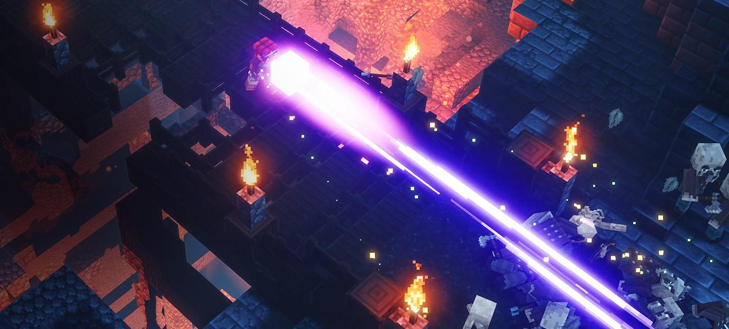 Коронавирус: Разработка Minecraft Dungeons пострадала из-за необходимых мер безопасности