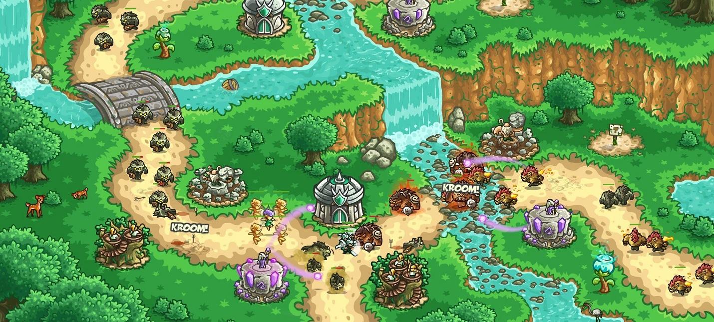 Коронавирус: Kingdom Rush Origins и Frontiers раздают бесплатно для смартфонов