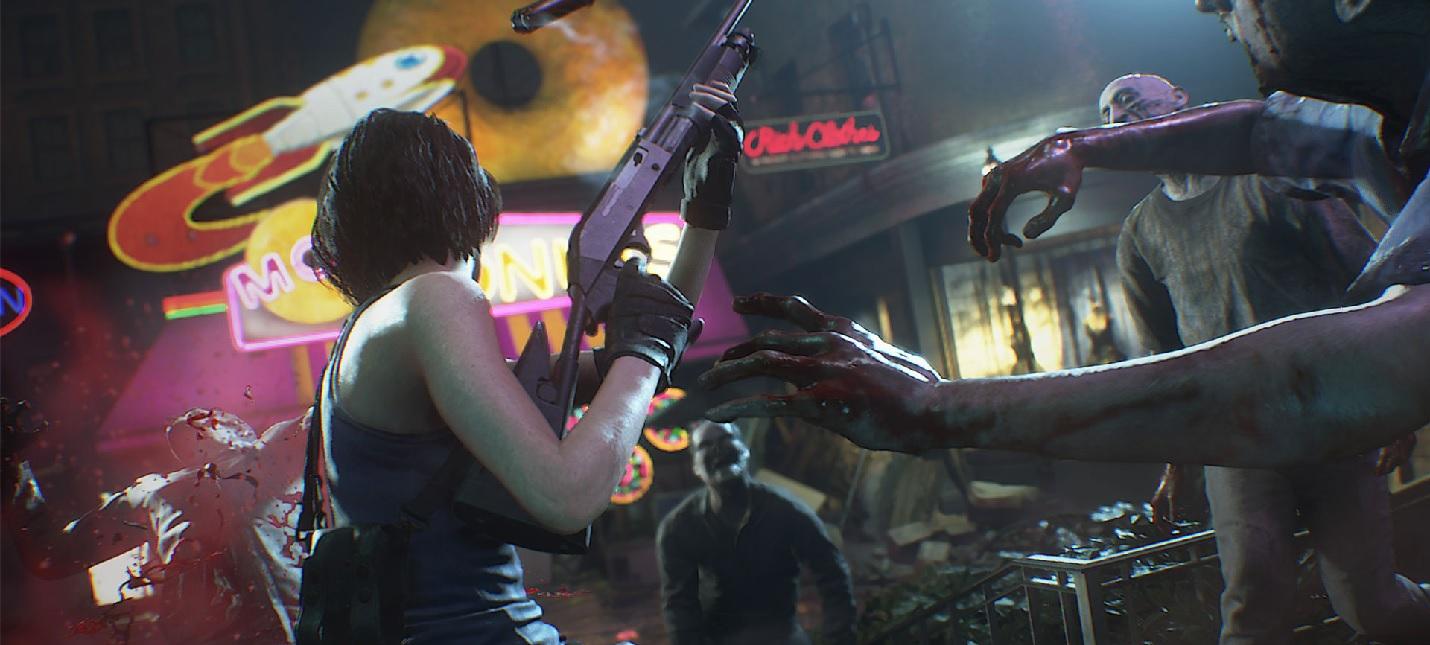 Введение в зомби-апокалипсис Раккун-сити в ознакомительном ролике Resident Evil 3