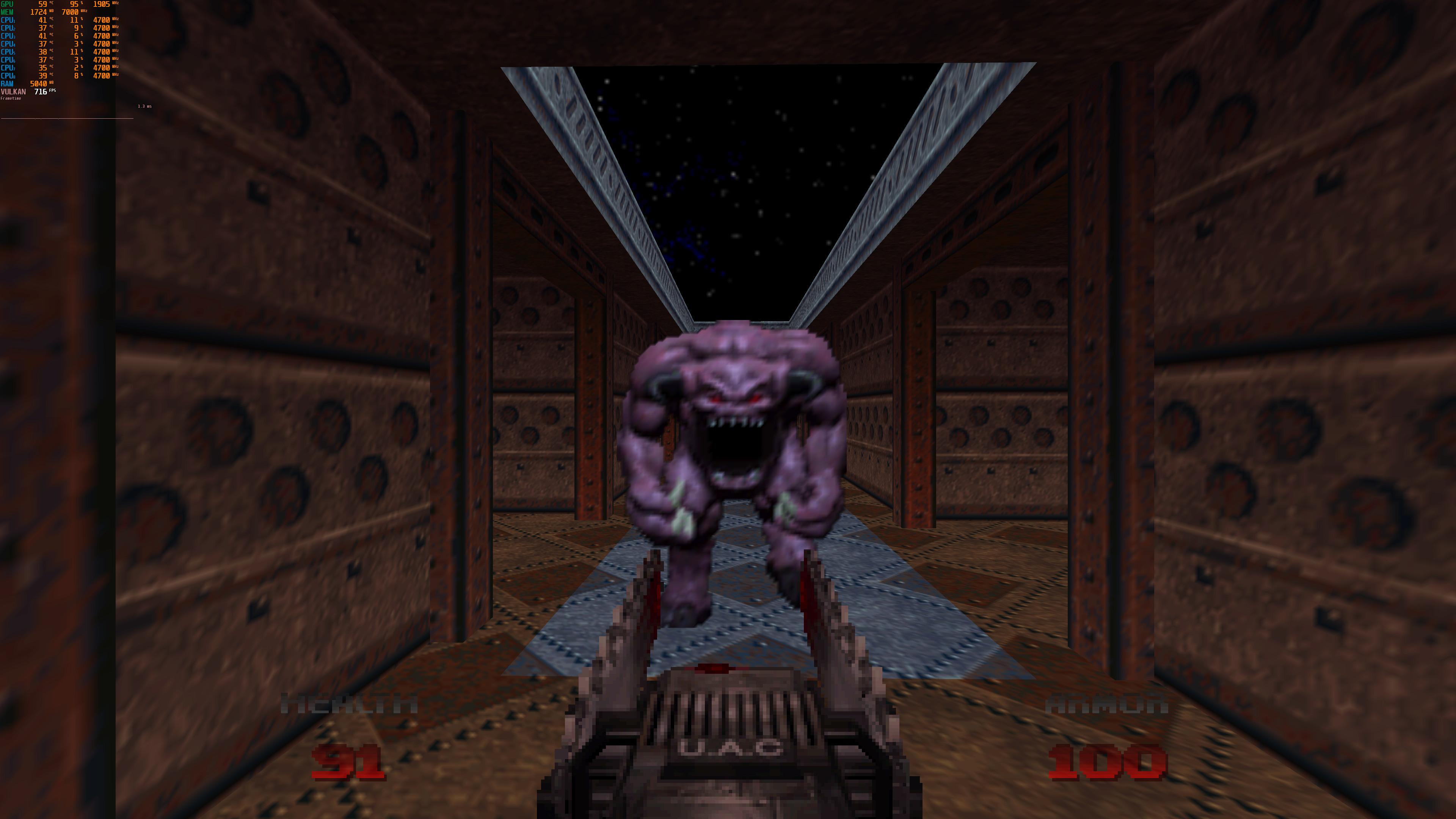 Геймплей новой главы и 4K-скриншоты ремастера Doom 64