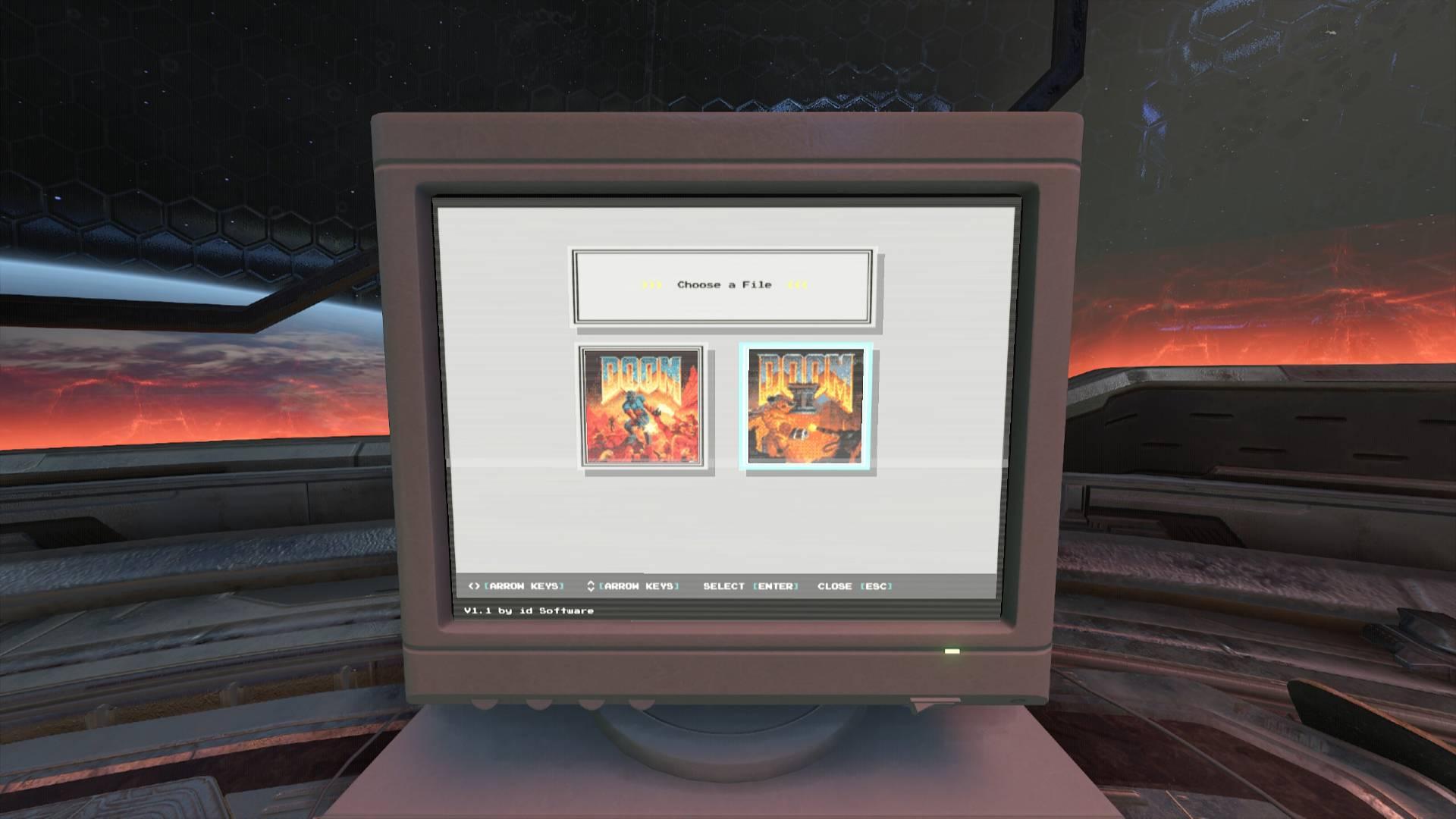 В DOOM Eternal можно сыграть в оригинальные части