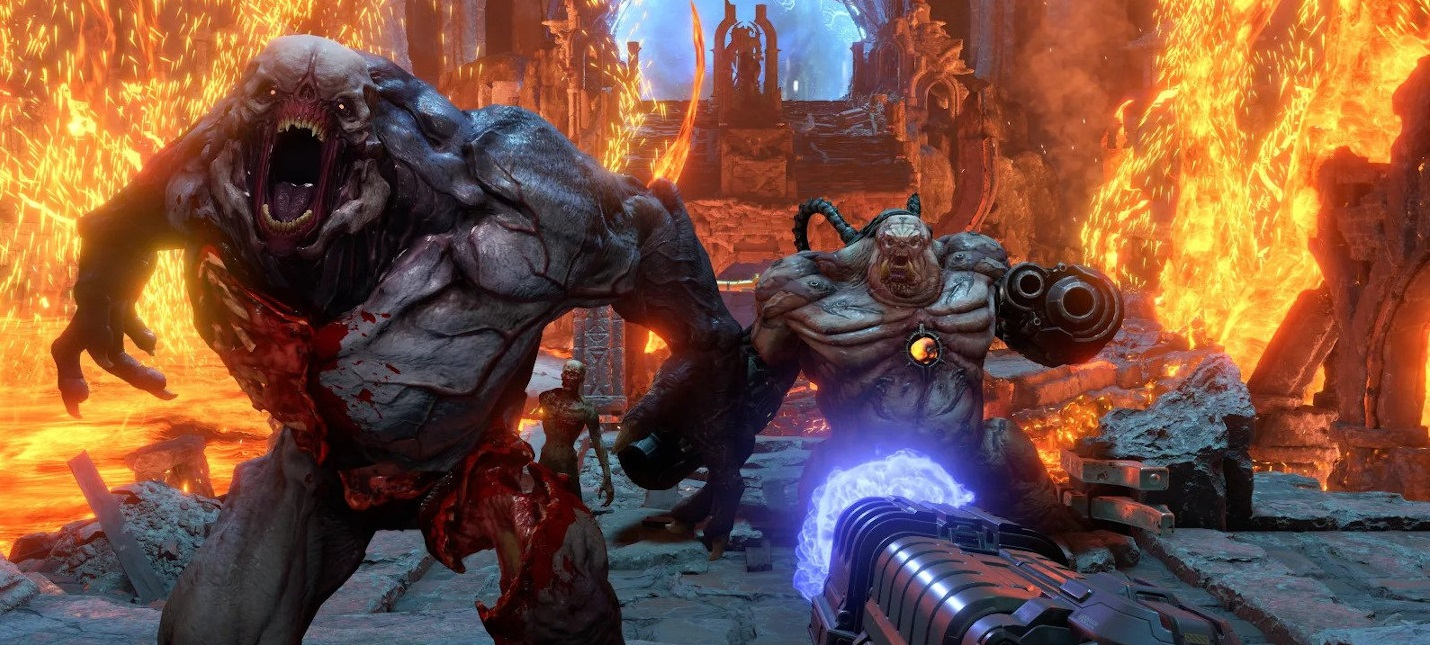 Пиковое количество игроков в Doom Eternal составило более 100 тысяч