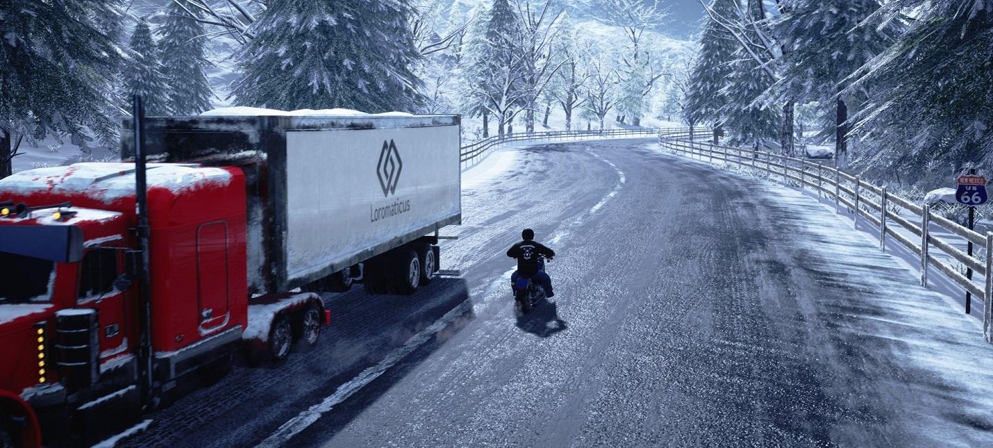Романтика байкерской жизни в первом трейлере American Motorcycle Simulator