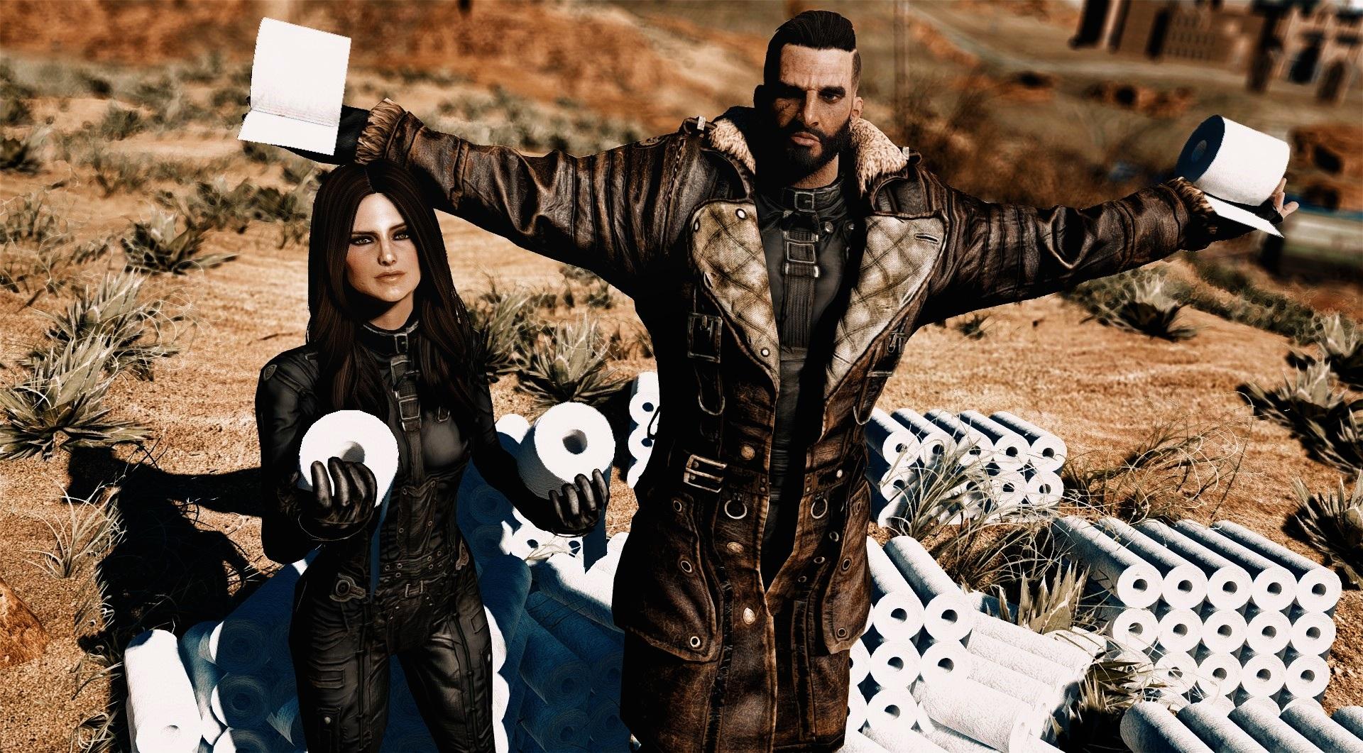 Для Fallout 4 вышел мод, позволяющий запасаться туалетной бумагой