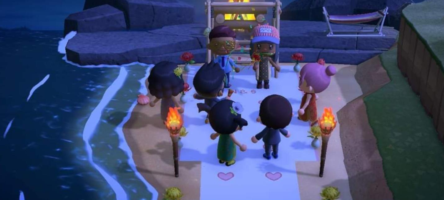 Из-за пандемии коронавируса пара из США провела свадьбу в Animal Crossing