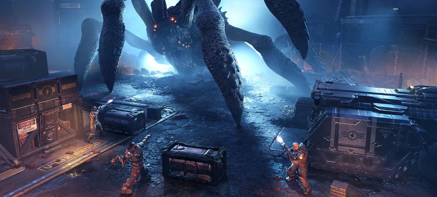 Полчаса нового геймплея Gears Tactics