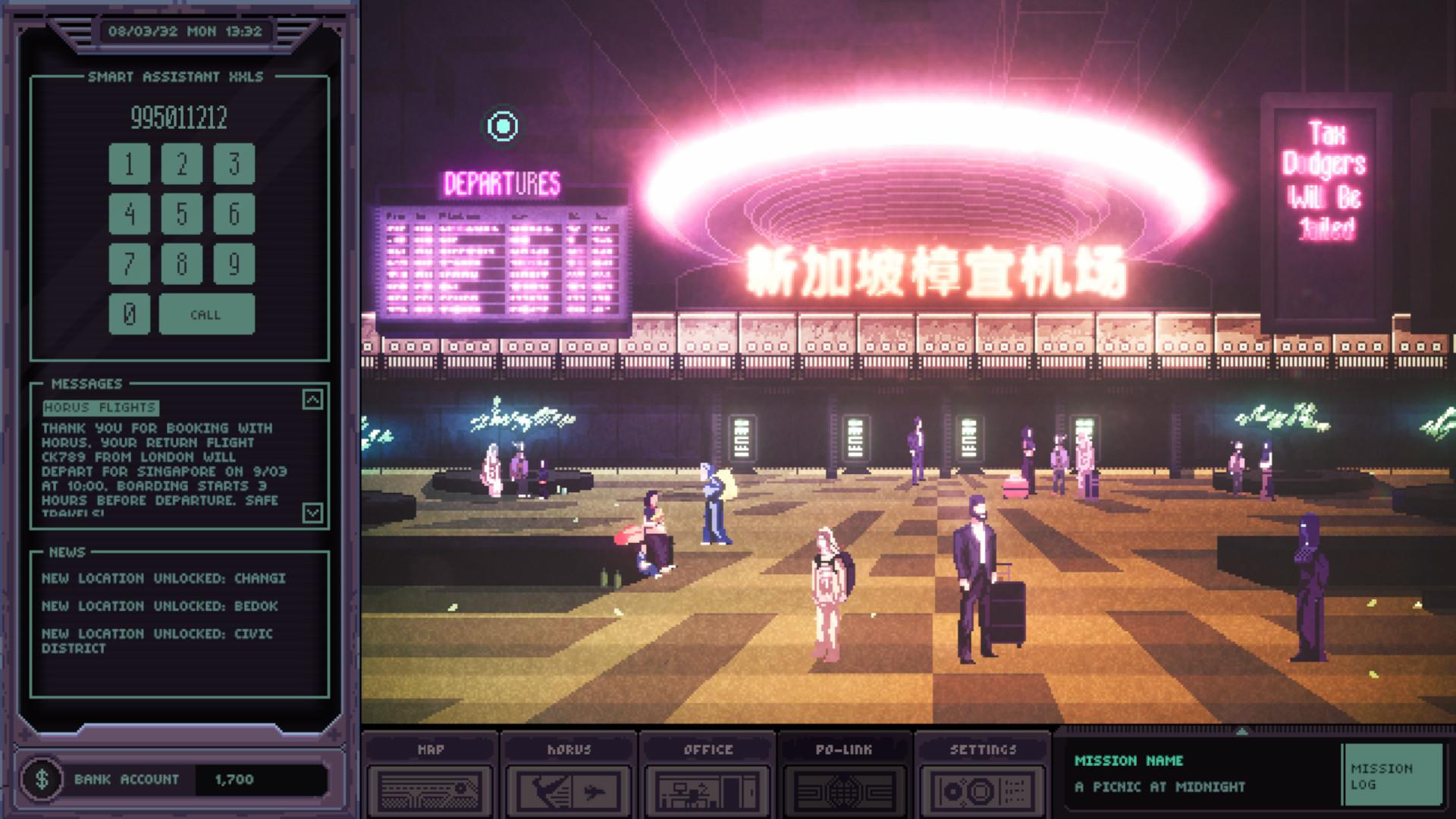 Станьте киберпанковым детективом в бесплатном демо Chinatown Detective Agency