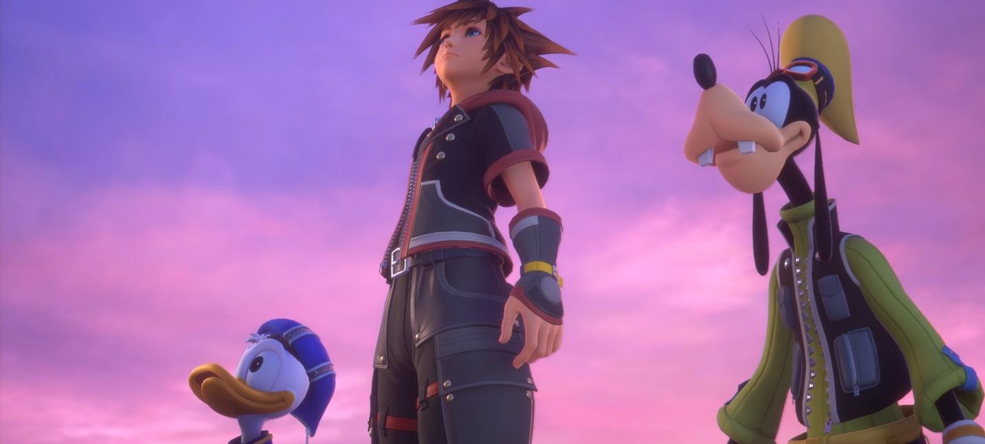 В разработке находятся два тайтла серии Kingdom Hearts