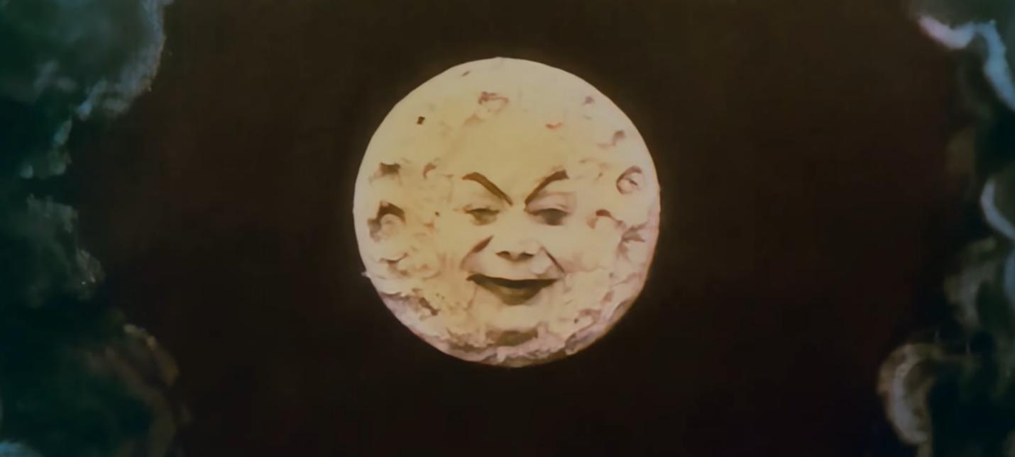 """Немой фильм """"Путешествие на Луну"""" 1902 года теперь можно посмотреть в 4K и цвете"""