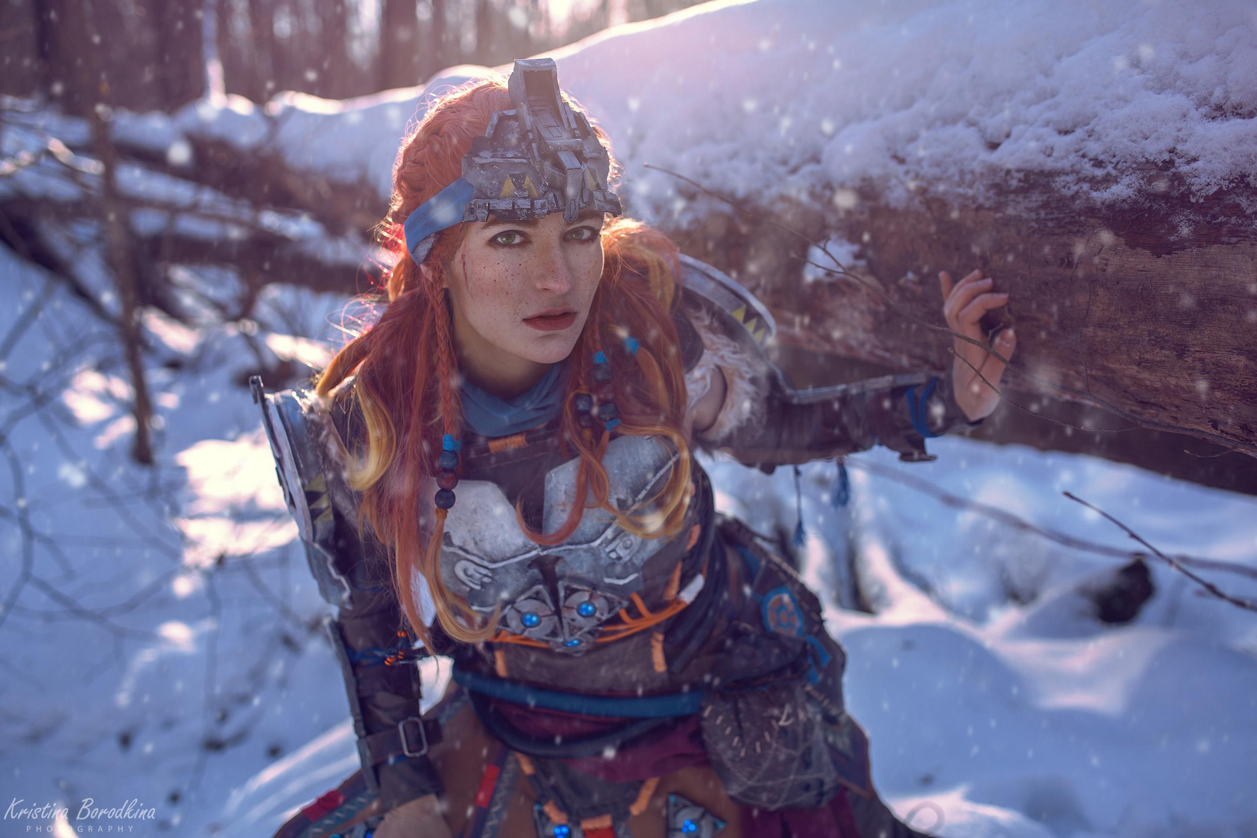 "Пятничный косплей: Horizon: Zero Dawn, Overwatch, Tomb Raider и ""Гжель"""