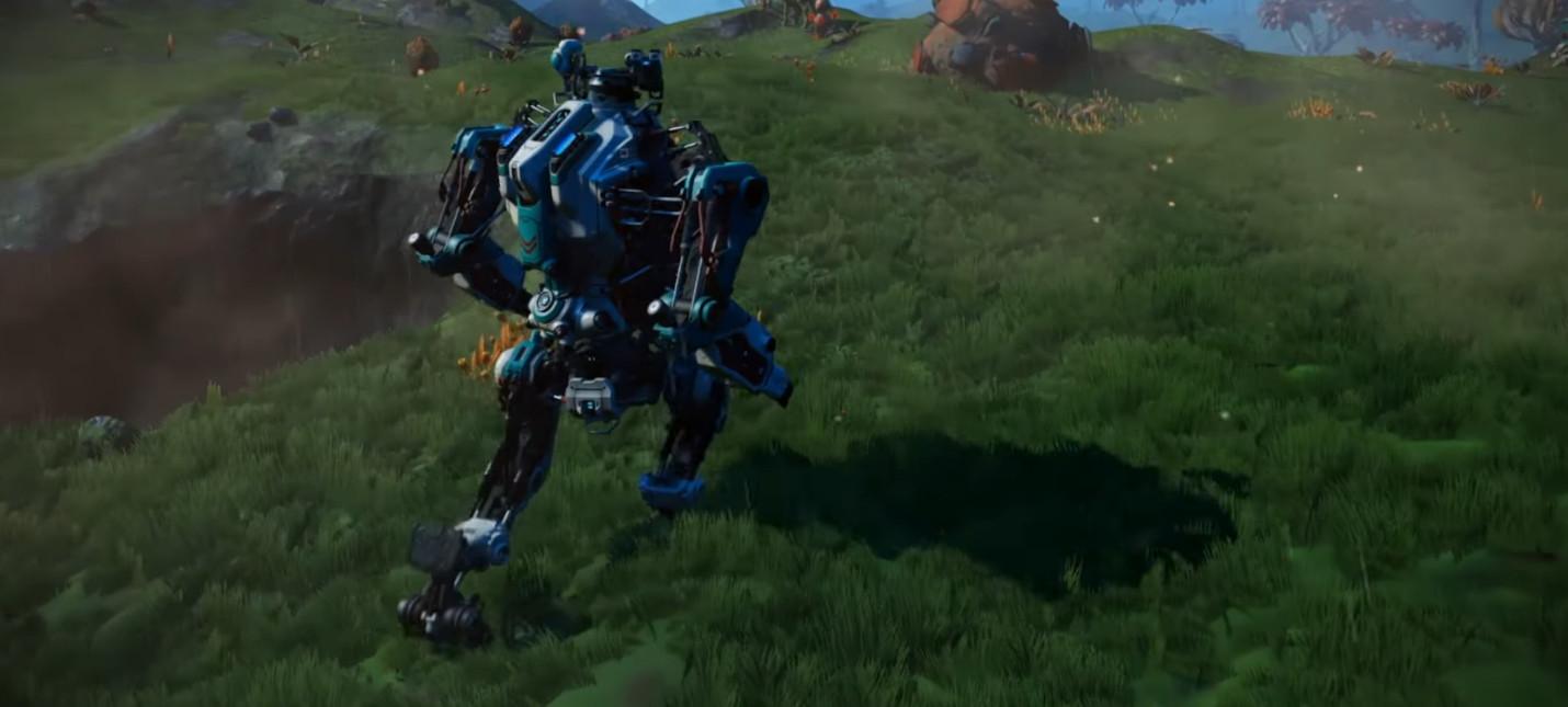 Утечка: В No Man's Sky появятся меха-роботы