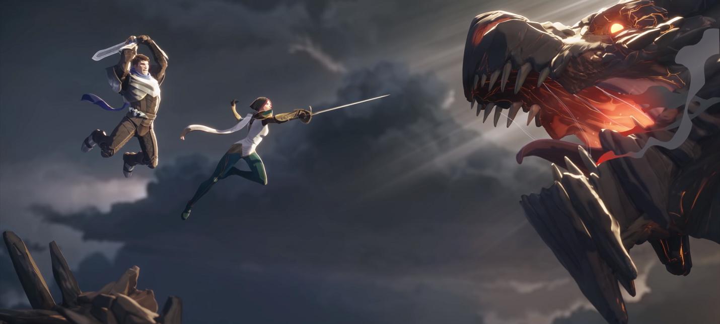 """Вышел первый ролик из серии """"Сказания Рунтерры"""" по Legends of Runeterra"""
