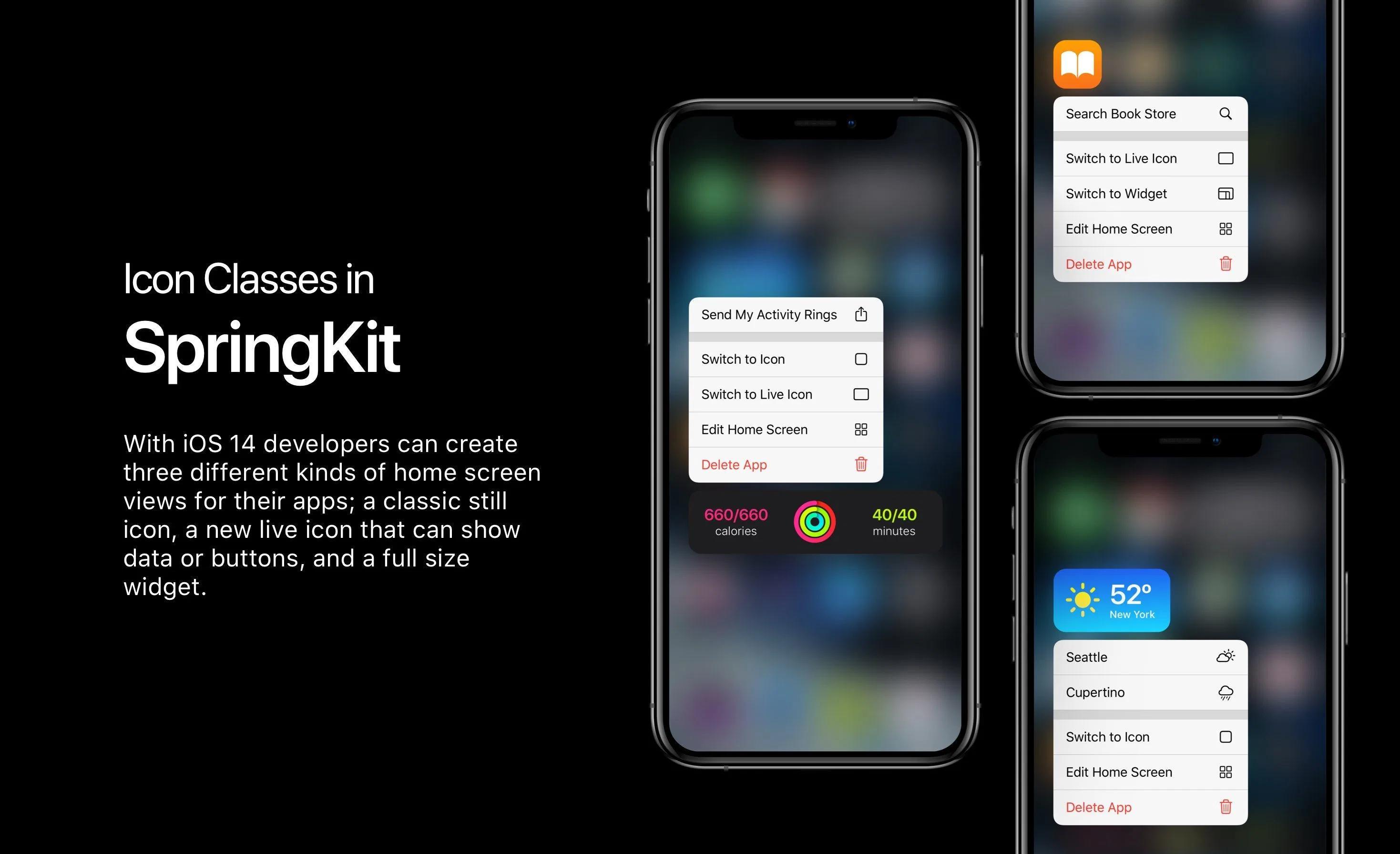 Жуналист BuzzFeed сделал концепт iOS 14 с виджетами на домашнем экране