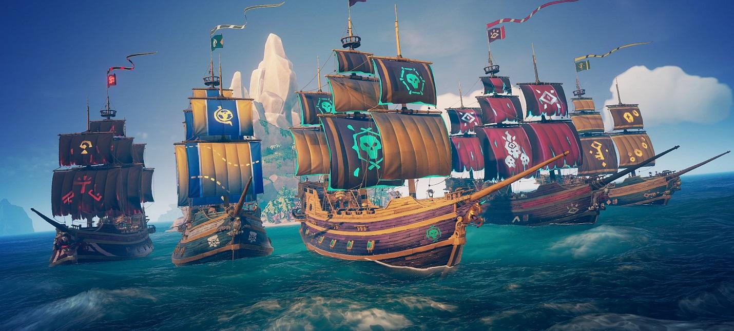 Режим PvP, котики и новые костюмы — детали обновления Ships of Fortune для Sea of Thieves