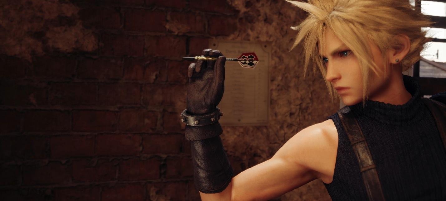 Подтягивания, дартс, танцы и другие мини-игры Final Fantasy VII