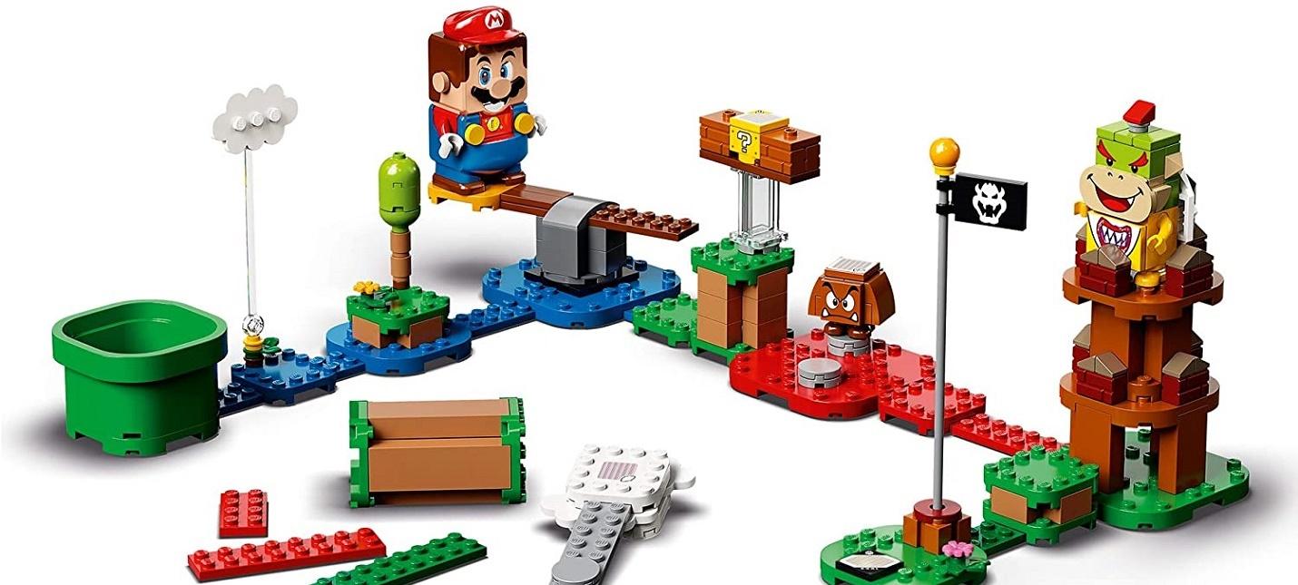 Стартовали предзаказы на набор LEGO Super Mario