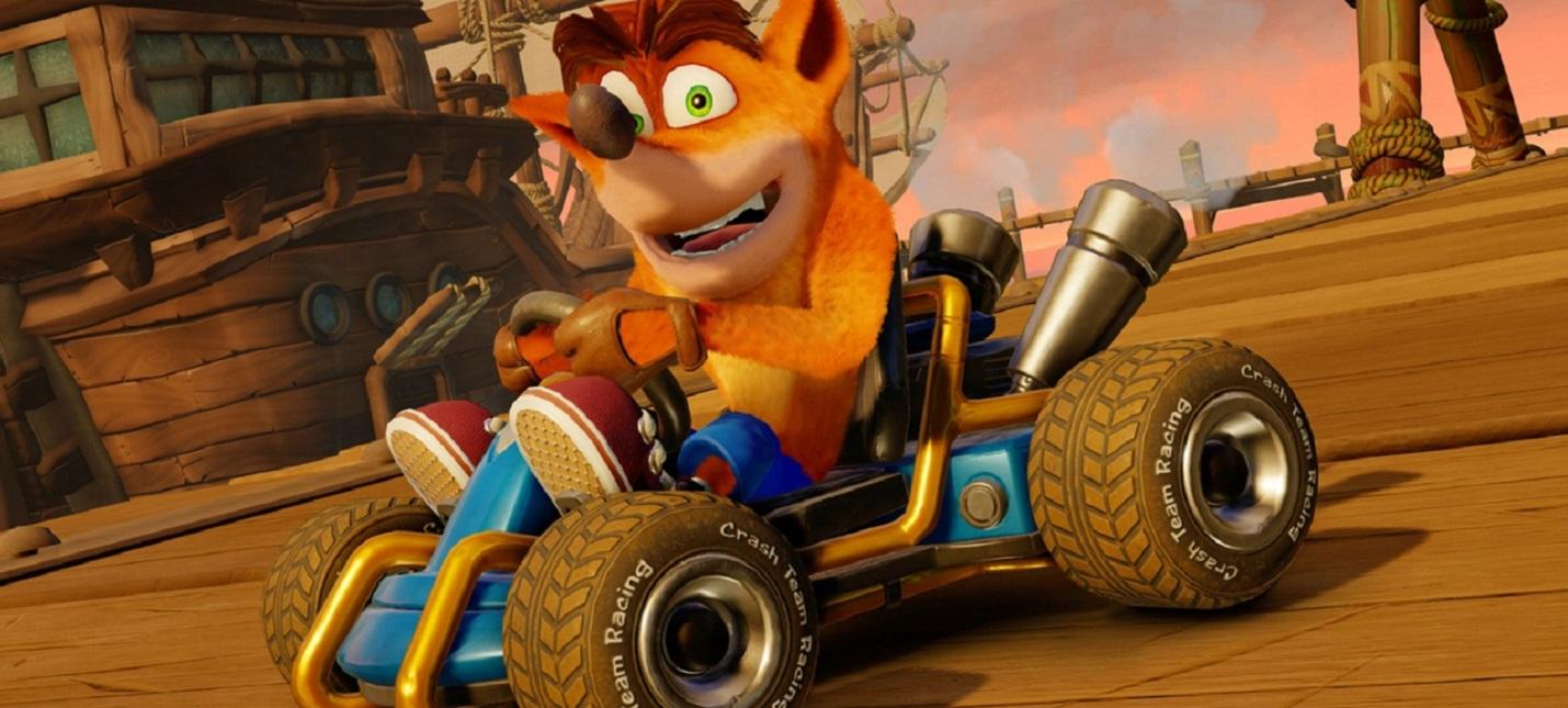 PC-версия Crash Team Racing Nitro-Fueled засветилась на сайте Activision
