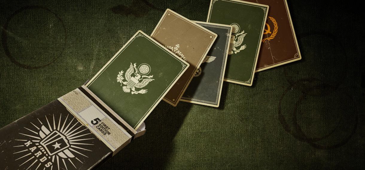 Раздаем 1000 ключей для KARDS — карточной игры по Второй Мировой