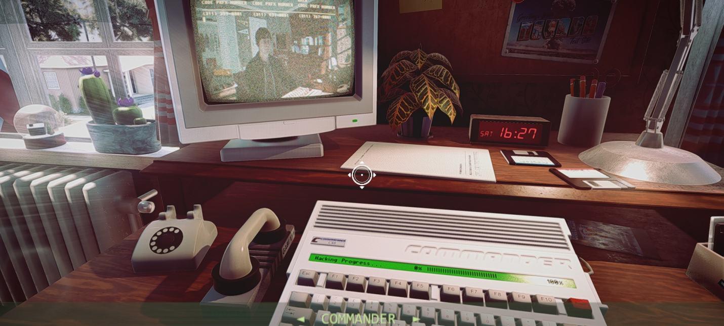 Первый трейлер ретро-триллера Commander '85 о суперкомпьютере