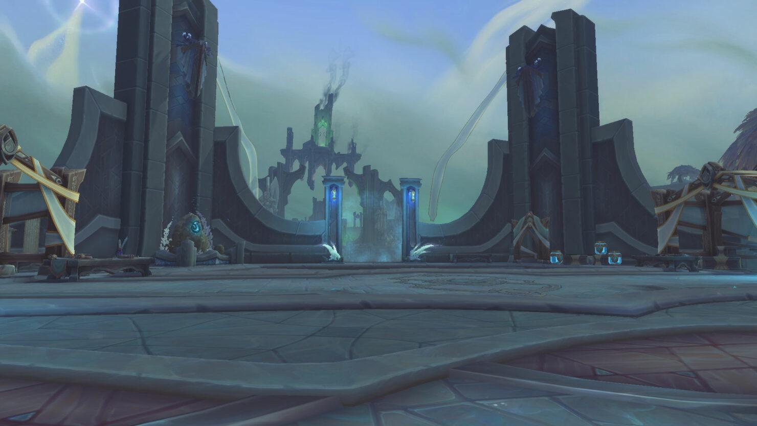 Новые скриншоты Бастиона из World of Warcraft: Shadowlands