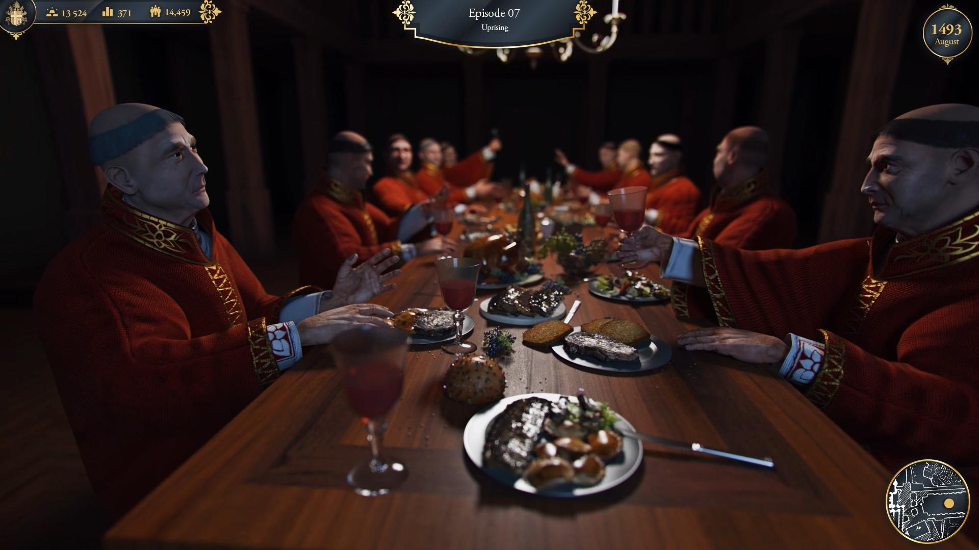Власть и грех — первый трейлер симулятора Папы Римского The Pope: Power & Sin