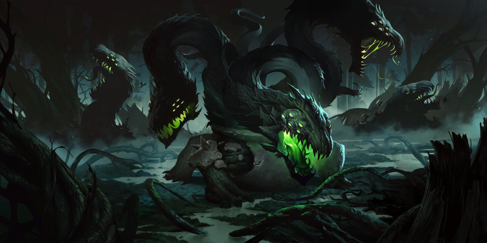 Сумрачные острова и новый чемпион для Legends of Runeterra