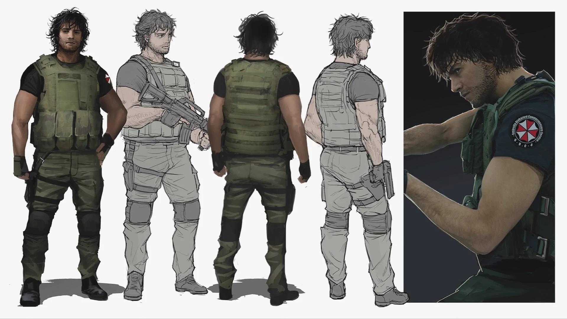 Концепт-арты Resident Evil 3 — как развивался дизайн ремейка