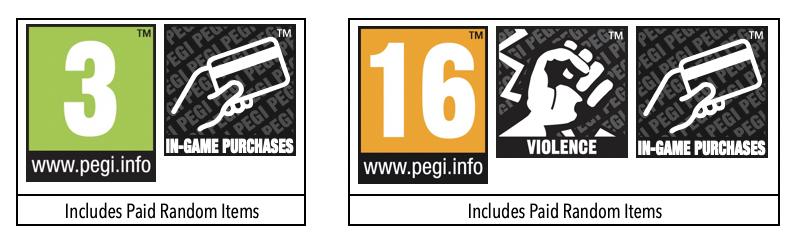 PEGI также будет предупреждать о наличии внутриигровых платных лутбоксов
