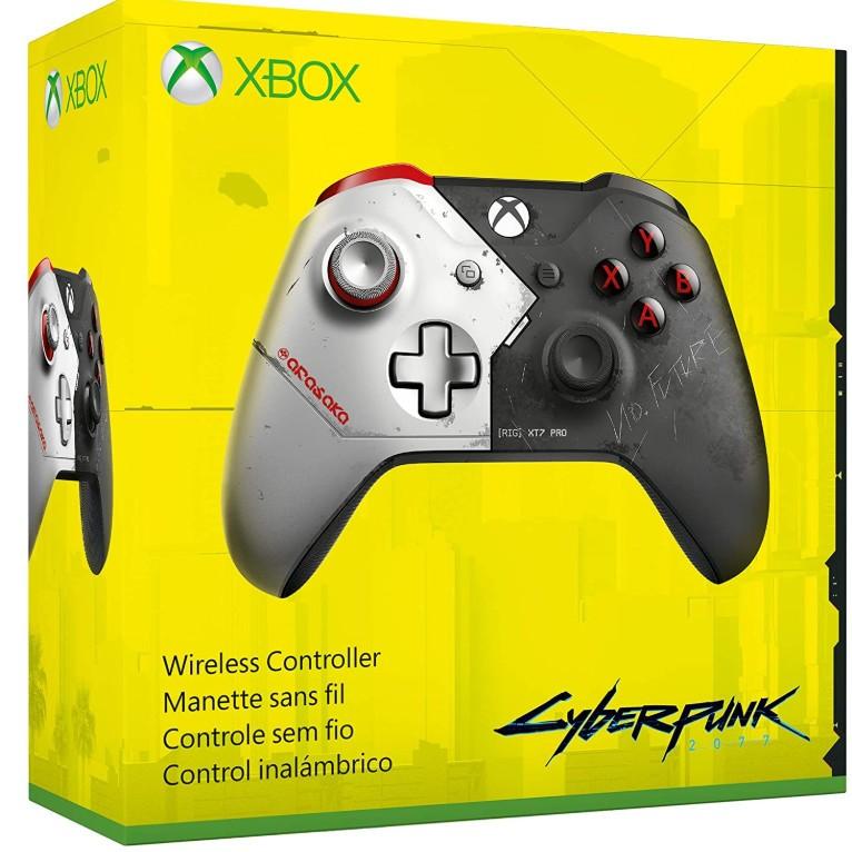 Утечка: На Amazon появился геймпад Xbox One в стиле Cyberpunk 2077