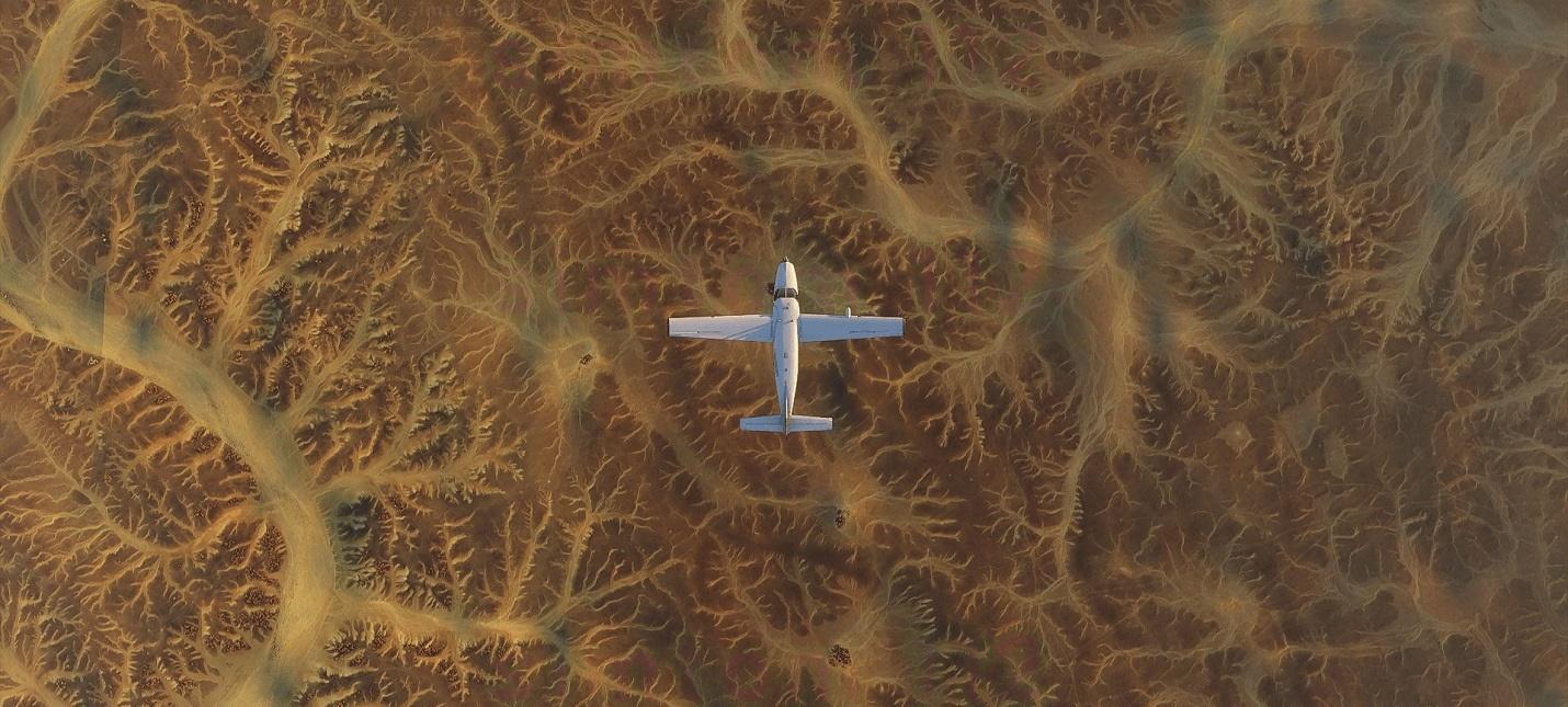 Бескрайние просторы и жирафы на новых скриншотах Microsoft Flight Simulator