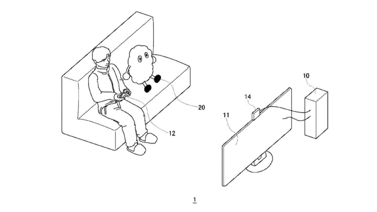 """Sony запатентовала """"робота-компаньона"""" для геймеров"""