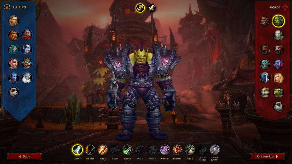 Игроки недовольны новым экраном создания персонажа в закрытом альфа-тесте World of Warcraft: Shadowlands